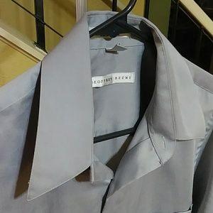 Geoffrey Beene Shirts - Geoffrey Beene Silver Long Sleeve Dress Shirt